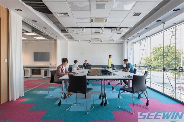 健康和效率的提高可以通過辦公家具協調性實現