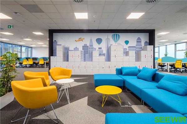 構建一個半開放式創意、高效的工作空間