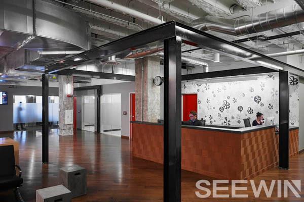 創意辦公家具打造工業化城市美學辦公空間