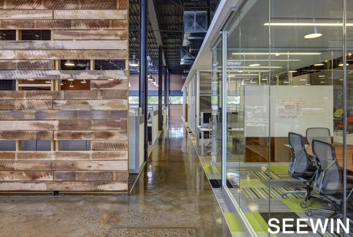 最機智的商家 辦公區域和銷售展廳兩不誤