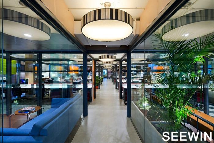 班加羅爾工業現代風辦公室設計