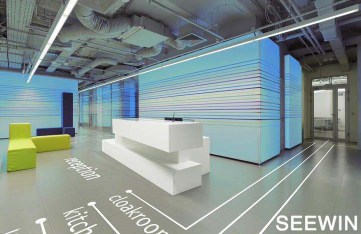 好色的辦公室 五光十色 設計欣賞