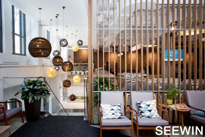 Shopify辦公室設計蒙特利爾簡約工業風